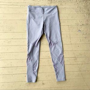 Fabletics grey 7/8 long leggings large
